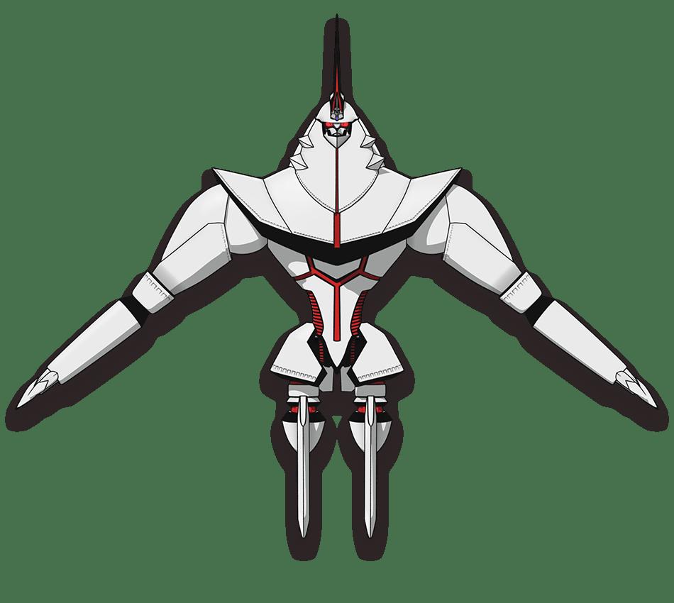 白石こがね/閣下 宇宙船バトルモード front